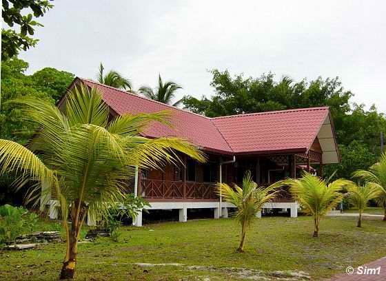 Accommodations on Selingan Island