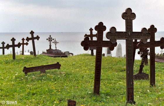 Ervik Chapel and graveyard